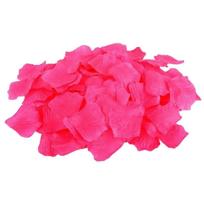 Artificial hot pink Silk Wedding Runner Aisle Flower Girls Rose Petals Australia