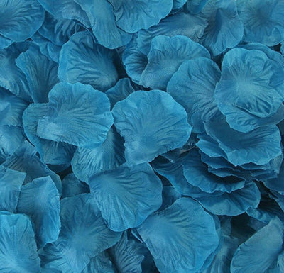 Artificial teal blue Silk Wedding Runner Aisle Flower Girls Rose Petals Australia