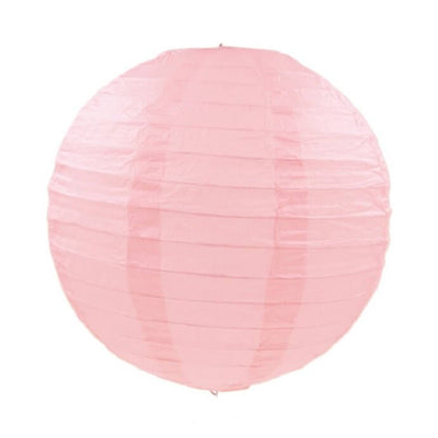 Online Party Supplies Australia 6-inch pastel baby pink Decorative Paper Lanterns Balls