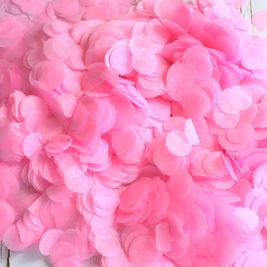 Online Party Supplies Australia 20g Baby Pink Round Circle Tissue Paper Wedding Baby Shower Party Confetti Table Scatters