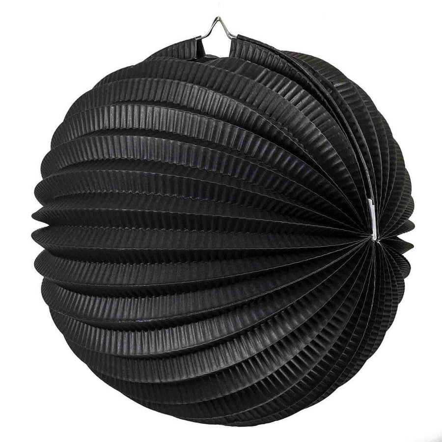 Online Party Supplies Australia black accordion paper lantern ball baby shower wedding nursery home decorations