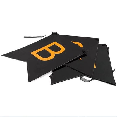 Black and Gold Foiled Happy Birthday Bunting Banner