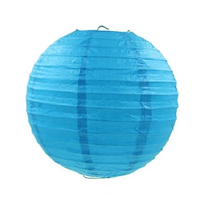 Online Party Supplies Australia 6-inch blue Decorative Paper Lanterns Balls