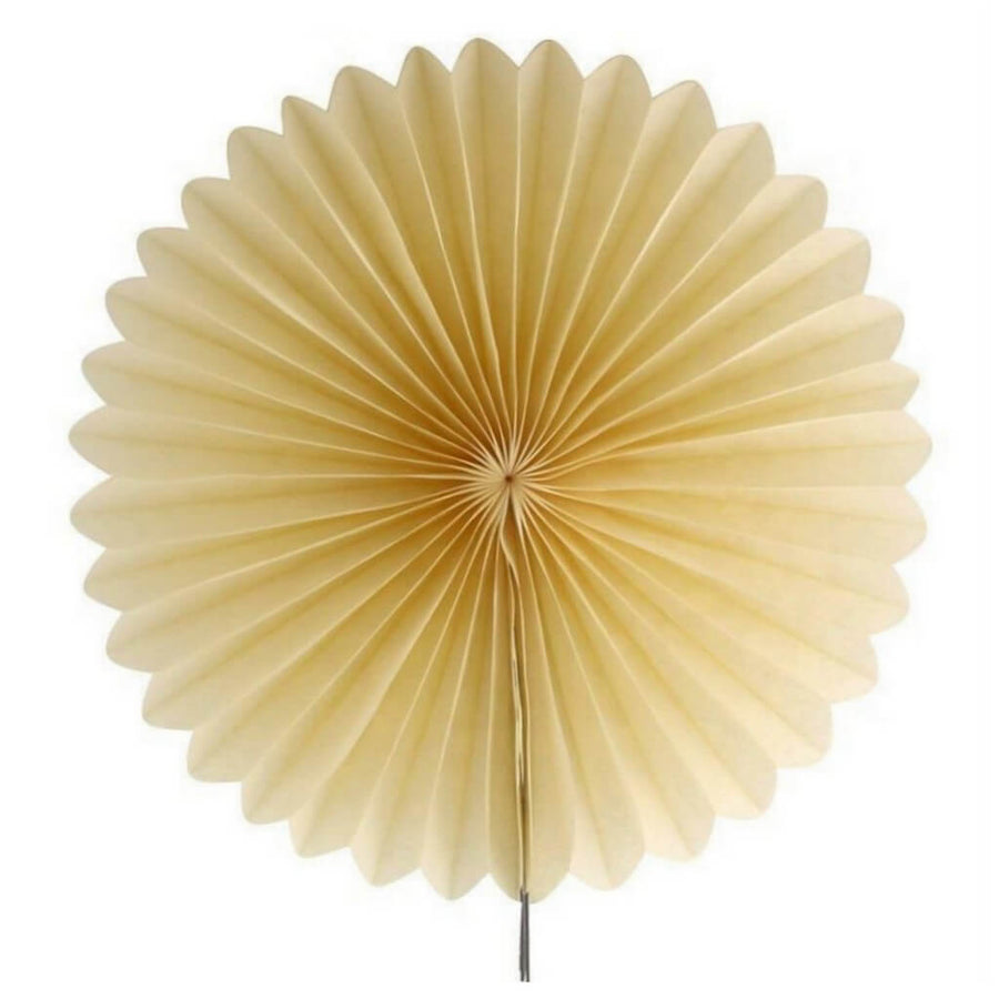 Online Party Supplies Australia champagne round tissue paper fan party decorations