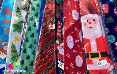 Christmas Tie for Men - Online Party Supplies