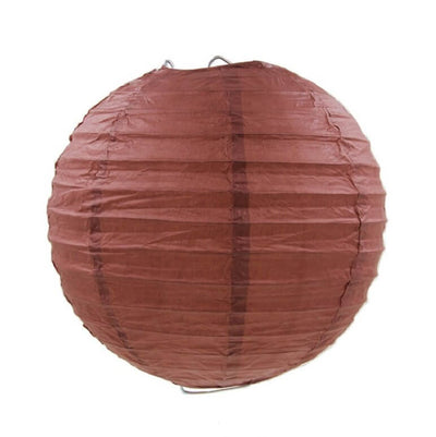 Online Party Supplies Australia 6-inch brown Decorative Paper Lanterns Balls