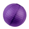 Online Party Supplies Australia 6-inch eggplant purple Decorative Paper Lanterns Balls
