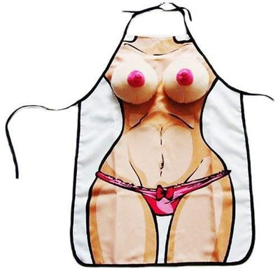 Funny Bachelorette Party 3D Boobie Apron - Online Party Supplies