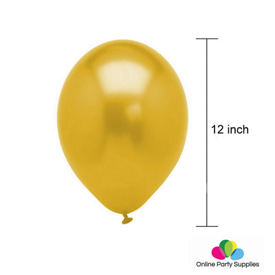 Gold Birthday Number 20 Foil Balloon Bouquet (Pack of 24pcs) - Online Party Supplies