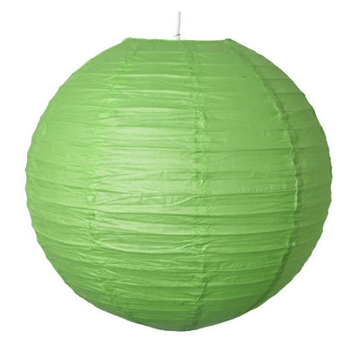 Online Party Supplies Australia 6-inch green Decorative Paper Lanterns Balls