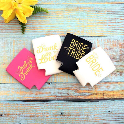 Online Party Supplies Bride Tribe Wedding Girls Night Out Bachelorette Hen Party Stubby Holder