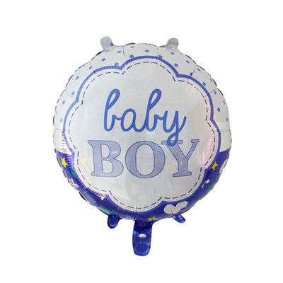 It's A Boy Baby Shower Balloon Bundle (Pack of 13 pieces) - Online Party Supplies