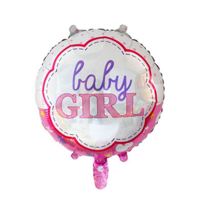 It's A Girl Baby Shower Balloon Bundle (Pack of 13 pieces) - Online Party Supplies