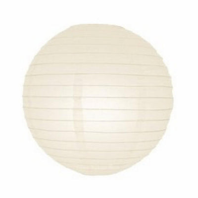 Online Party Supplies Australia 6-inch ivory beige cream Decorative Paper Lanterns Balls