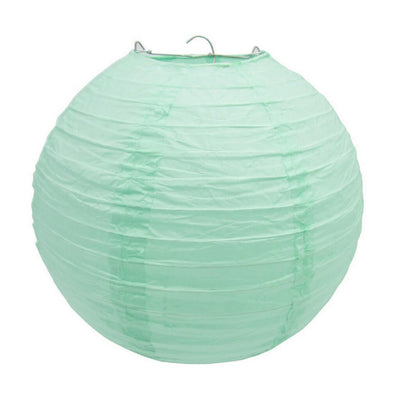 Online Party Supplies Australia 6-inch light mint green Decorative Paper Lanterns Balls