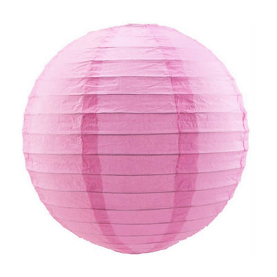 Online Party Supplies Australia 6-inch light pink Decorative Paper Lanterns Balls