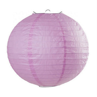 Online Party Supplies Australia 6-inch lilac light purple Decorative Paper Lanterns Balls