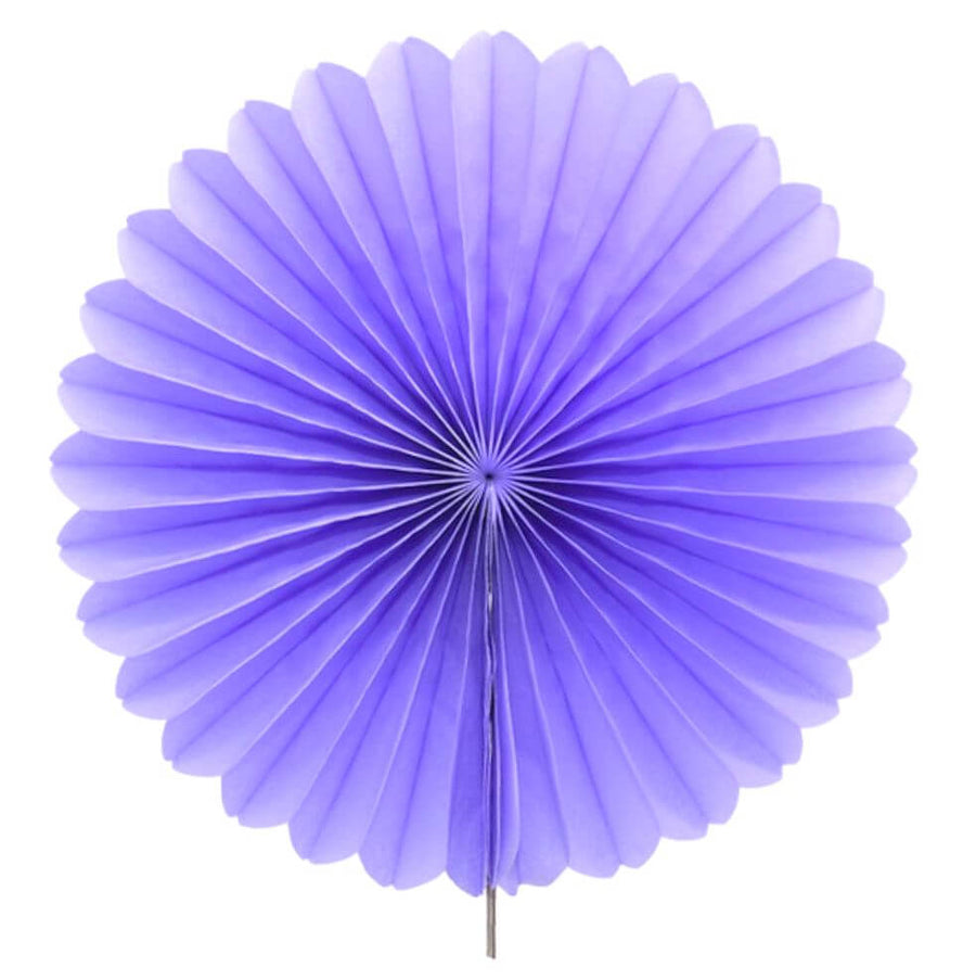 Online Party Supplies Australia Lilac round tissue paper fan party decorations