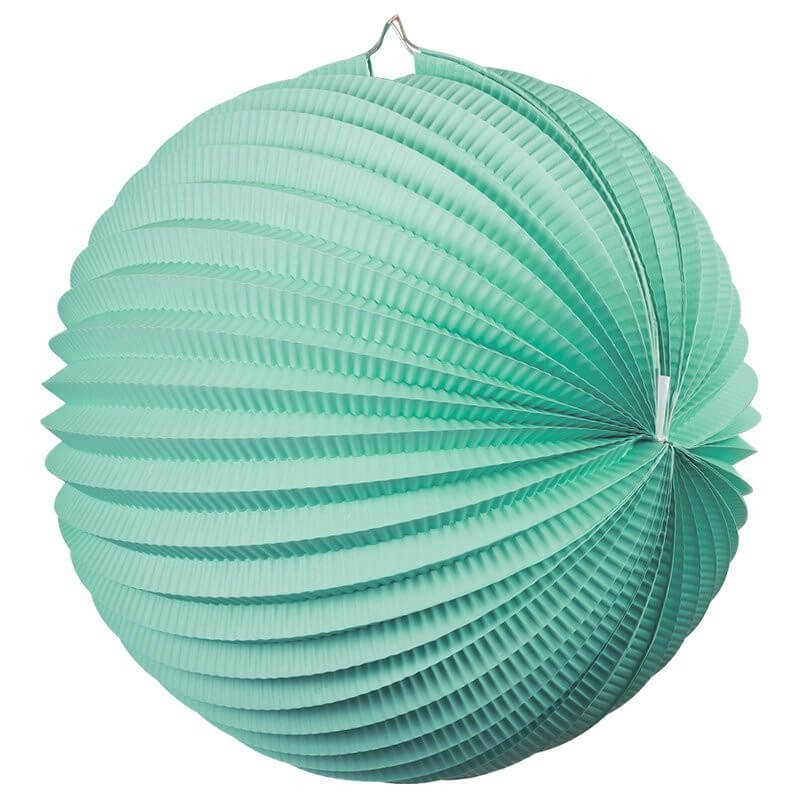Online Party Supplies Australia mint green accordion paper lantern ball baby shower wedding nursery home decorations