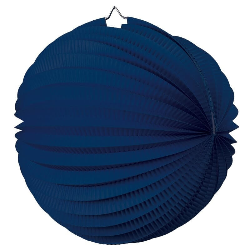 Online Party Supplies Australia navy blue accordion paper lantern ball baby shower wedding nursery home decorations