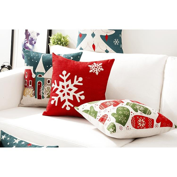 Nordic Scandinavian Christmas Decorative Cushion Covers
