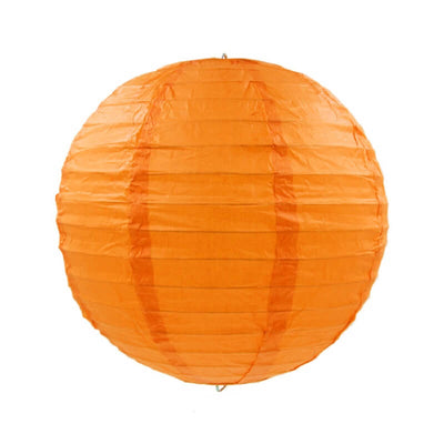 Online Party Supplies Australia 6-inch orange Decorative Paper Lanterns Balls