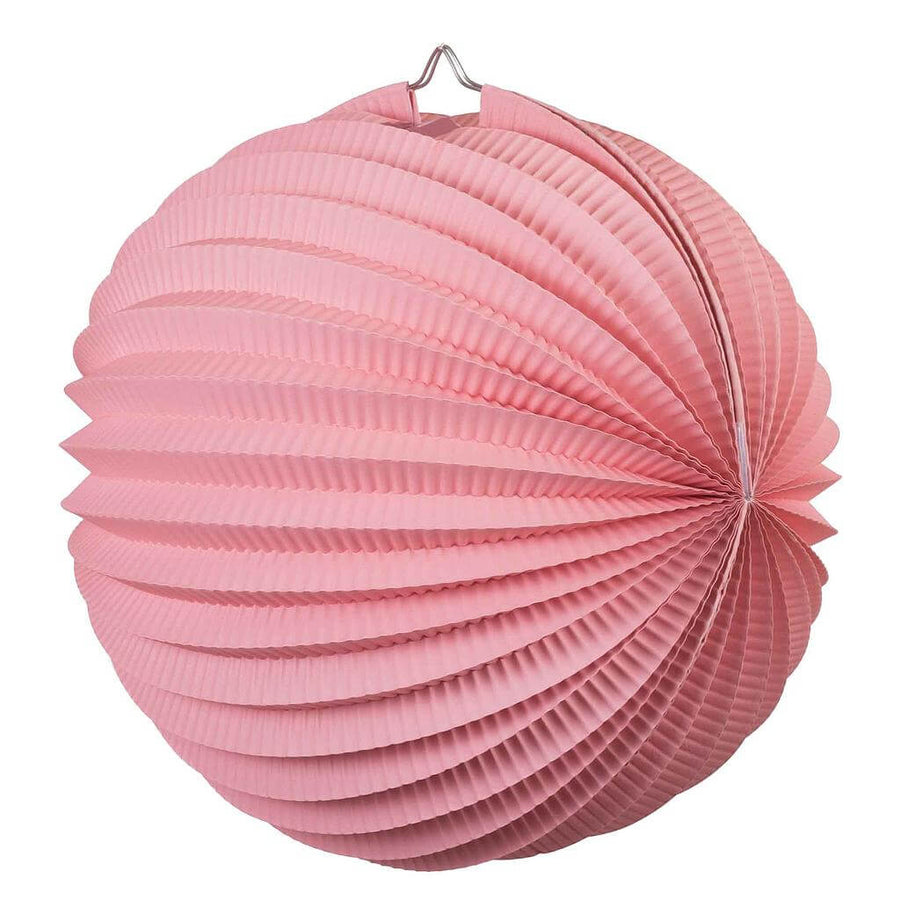 Online Party Supplies Australia pastel pink accordion paper lantern ball baby shower wedding nursery home decorations