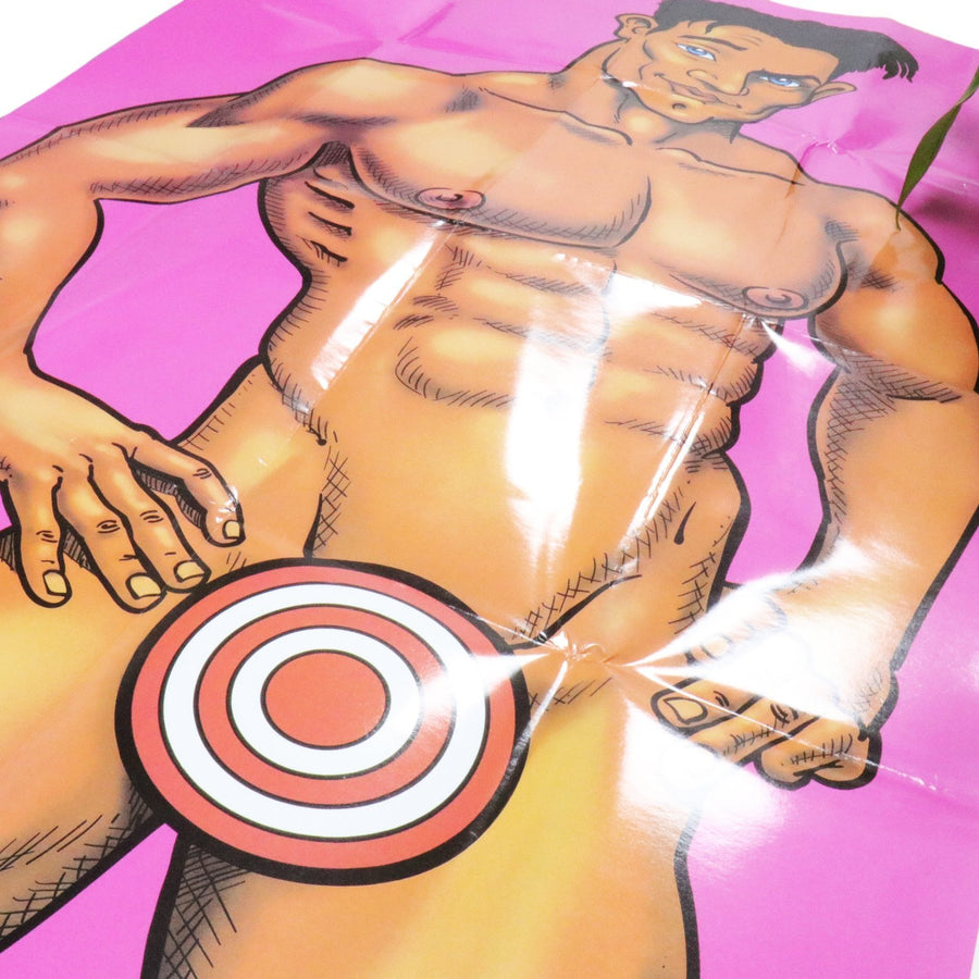 Pin The Junk on the Hunk Bachelorette Party Game