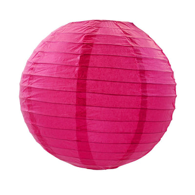 Online Party Supplies Australia 6-inch pink Decorative Paper Lanterns Balls