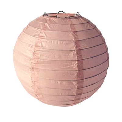 Online Party Supplies Australia 6-inch pink rosewood Decorative Paper Lanterns Balls