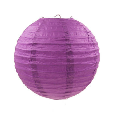 Online Party Supplies Australia 6-inch purple Decorative Paper Lanterns Balls
