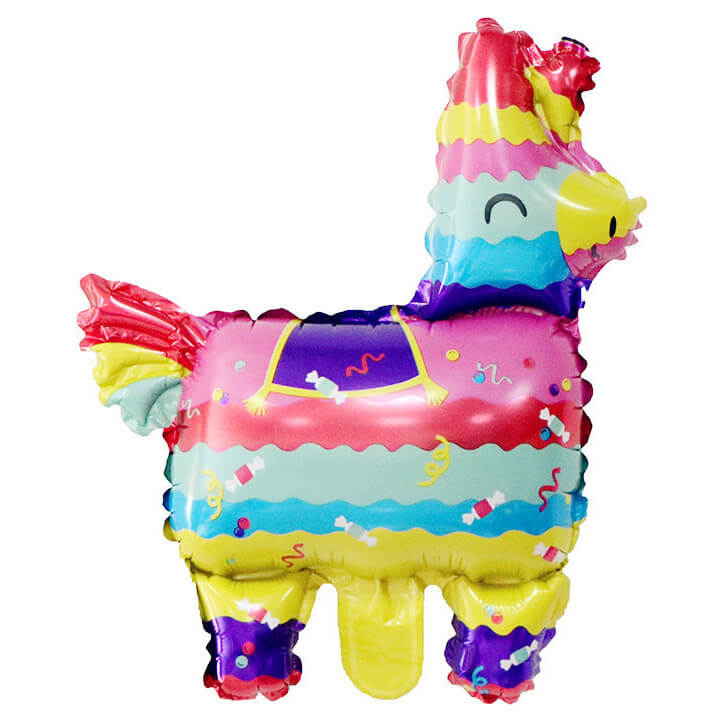 "26"" Online Party Supplies Rainbow Llama Alpaca Pinata Foil Party Balloon Pride LGBT party decor"