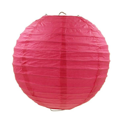 Online Party Supplies Australia 6-inch Red Decorative Paper Lanterns Balls