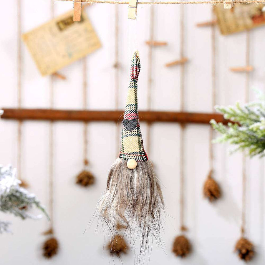 Faceless Christmas Gnome Tree Hanging Ornament