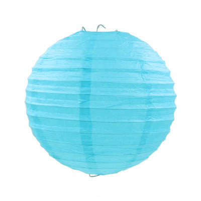 Online Party Supplies Australia 6-inch sky blue Decorative Paper Lanterns Balls