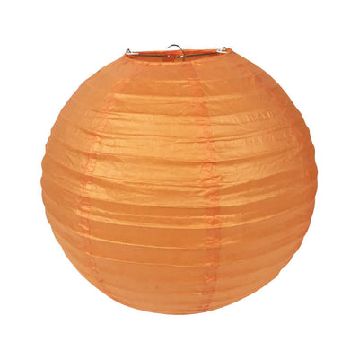 Online Party Supplies Australia 6-inch tangerine orange Decorative Paper Lanterns Balls