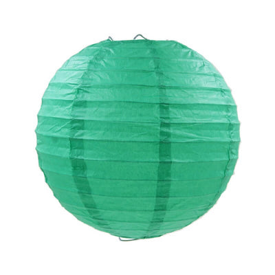 Online Party Supplies Australia 6-inch teal green Decorative Paper Lanterns Balls