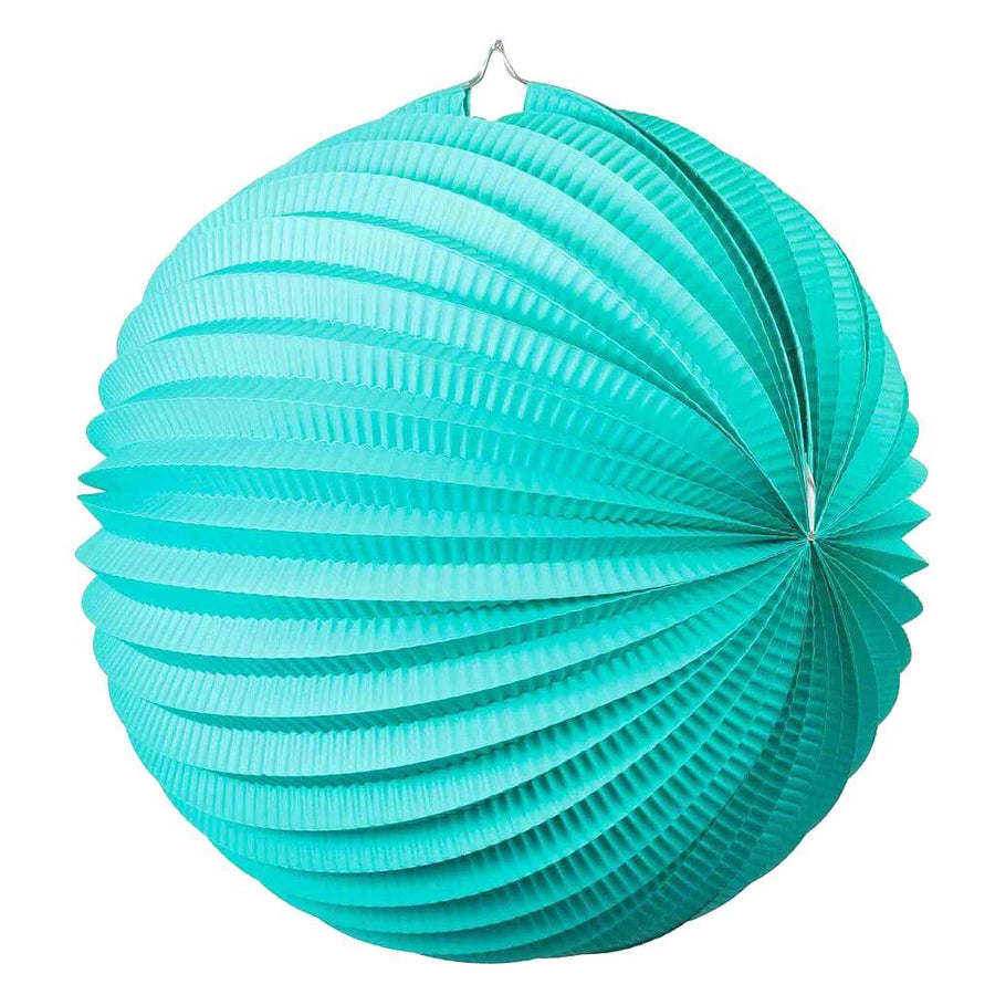 Online Party Supplies Australia tiffany blue accordion paper lantern ball baby shower wedding nursery home decorations