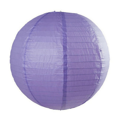 Online Party Supplies Australia 6-inch violet purple Decorative Paper Lanterns Balls
