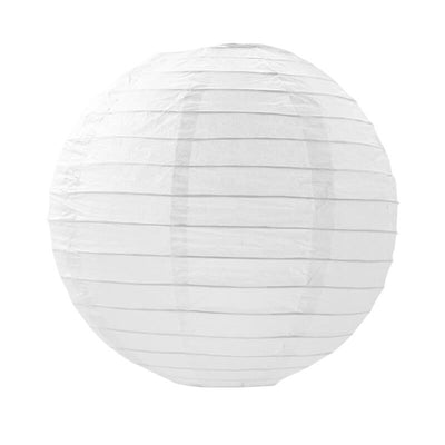 Online Party Supplies Australia 6-inch white Decorative Paper Lanterns Balls