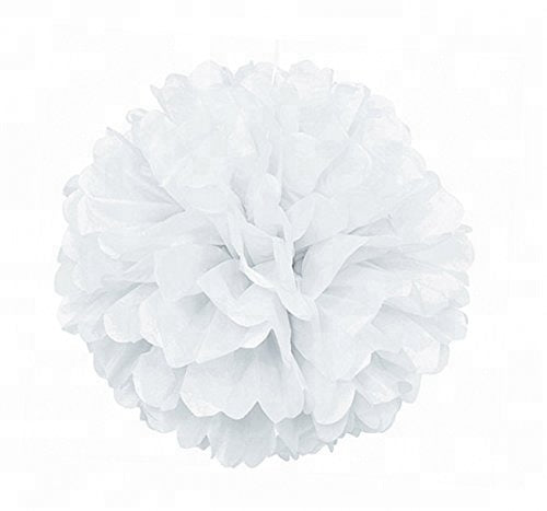 Party Decorations Tissue Paper Pom Poms - Multi Colours - 3 Sizes