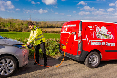 EV Charging Roadside Rescue Vehicle