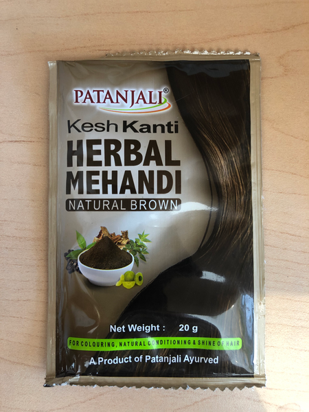 Kesh Kanti Herbal Mehandi Natural Brown