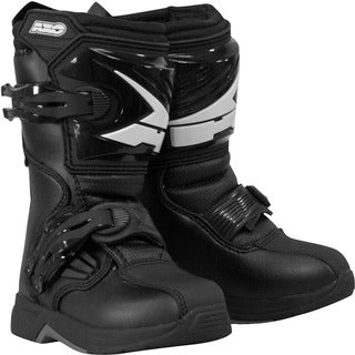 Axo Drone Peewee Kids Black Boots
