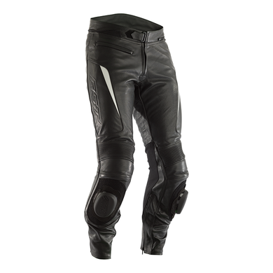 RST GT LEATHER PANT [BLACK/WHITE]