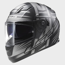 Load image into Gallery viewer, LS2 FF320 Stream Bang Black/Titanium Road Helmet