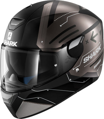 Shark Skwal 2 Warhen Matt Black Road Helmet