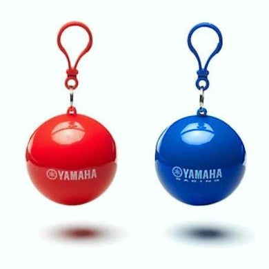 Yamaha Rain Poncho Ball (Keyring and Rain Poncho in one)