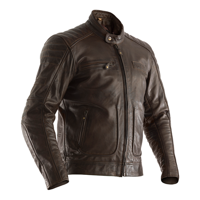 RST ROADSTER 2 LEATHER JACKET [BROWN]