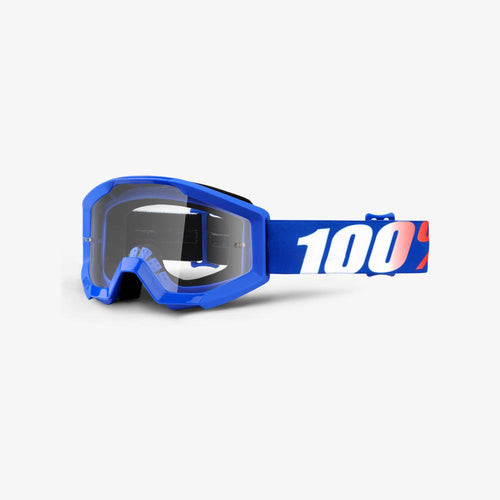100% The Strata Jr Youth MX Goggles
